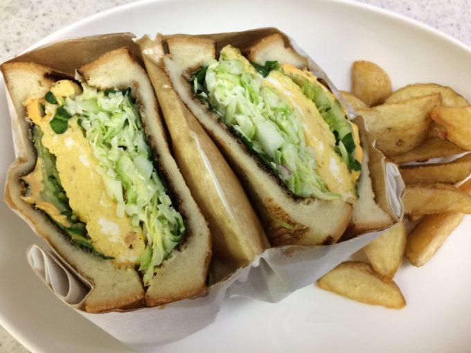 ジューシーズ ラボラトリーのサンドイッチ和風ジャポニカ
