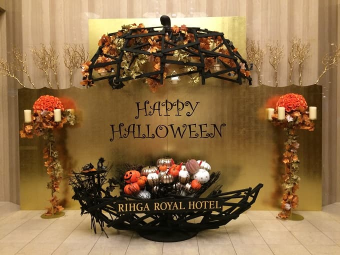 リーガロイヤルホテル大阪のハロウィンインスタ映えスポット