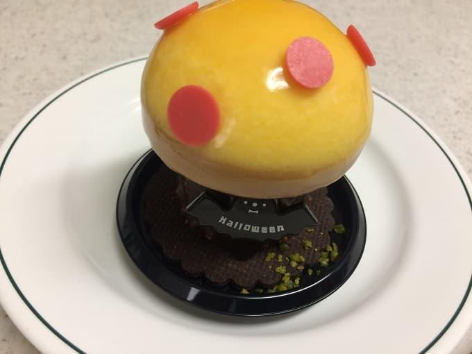 リーガロイヤルホテル大阪のハロウィンケーキの「幸せの黄色いキノコ」