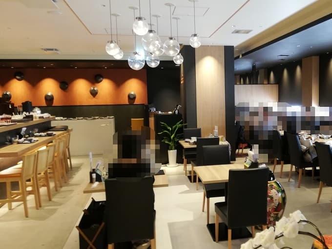 黒酢レストラン 黒酢本舗 桷志田 なんばスカイオ店の内観