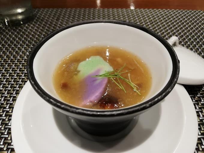 神戸プレジールのオニオンスープ