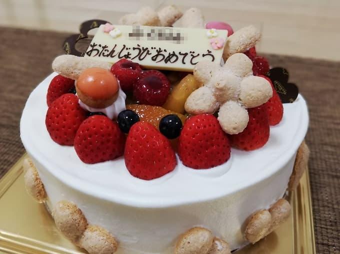 ツマガリのバースデーケーキ