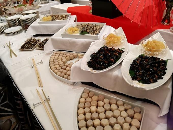 リーガロイヤルホテル京都の新春ファミリービュッフェのおせち料理