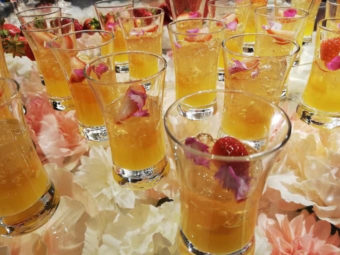 オレンジ・カモミールゼリー