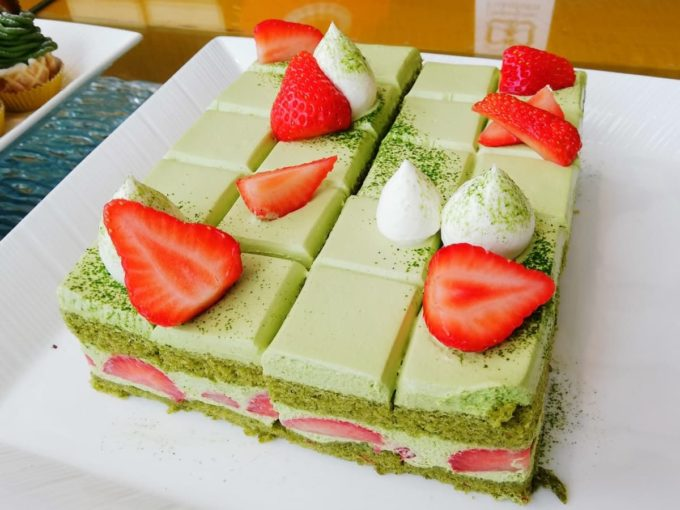 抹茶ショートケーキ