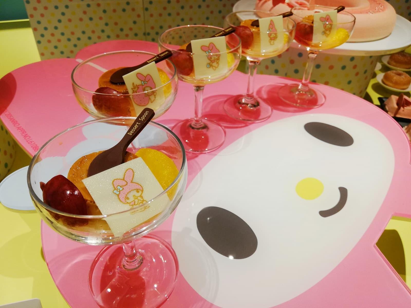 2020年ヒルトン大阪のハローキティ&マイメロディのデザートビュッフェ
