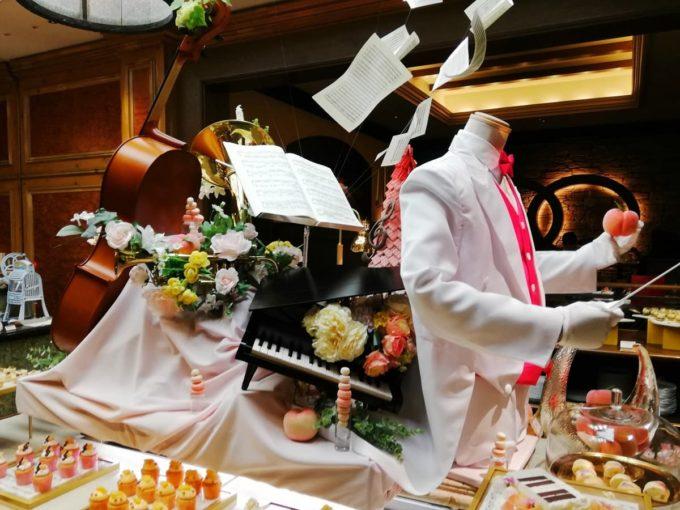 リッツカールトン大阪の2019年の桃ビュッフェ、ピーチ・カンタービレ