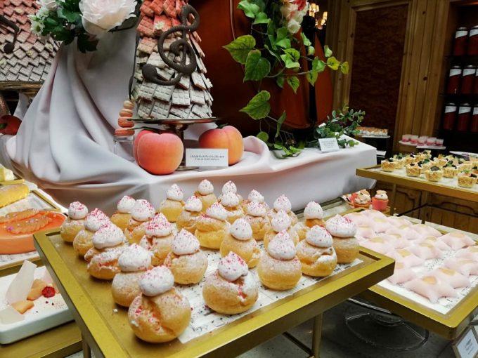 桃だらけのリッツカールトン大阪の桃ビュッフェ