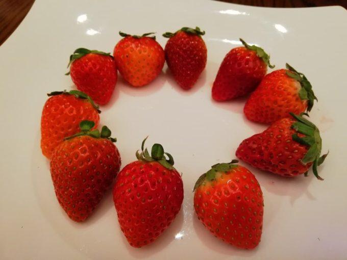 10種類の国産苺