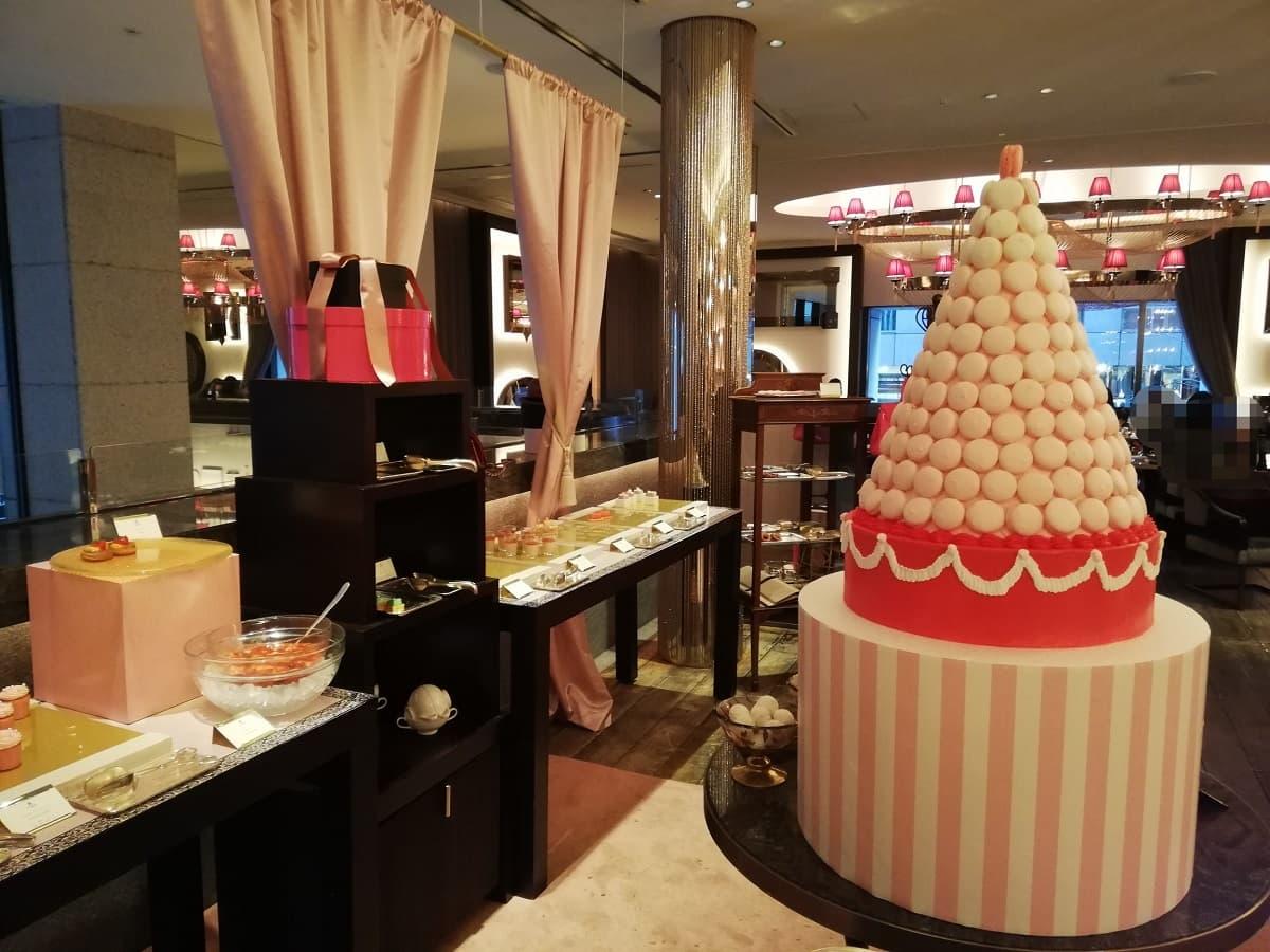 セント レジス ホテル 大阪のいちごビュッフェの様子