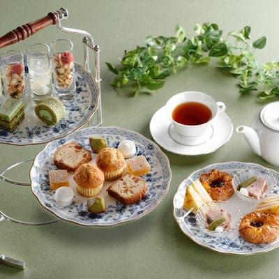 シェラトン都ホテル大阪の抹茶のアフタヌーンティー