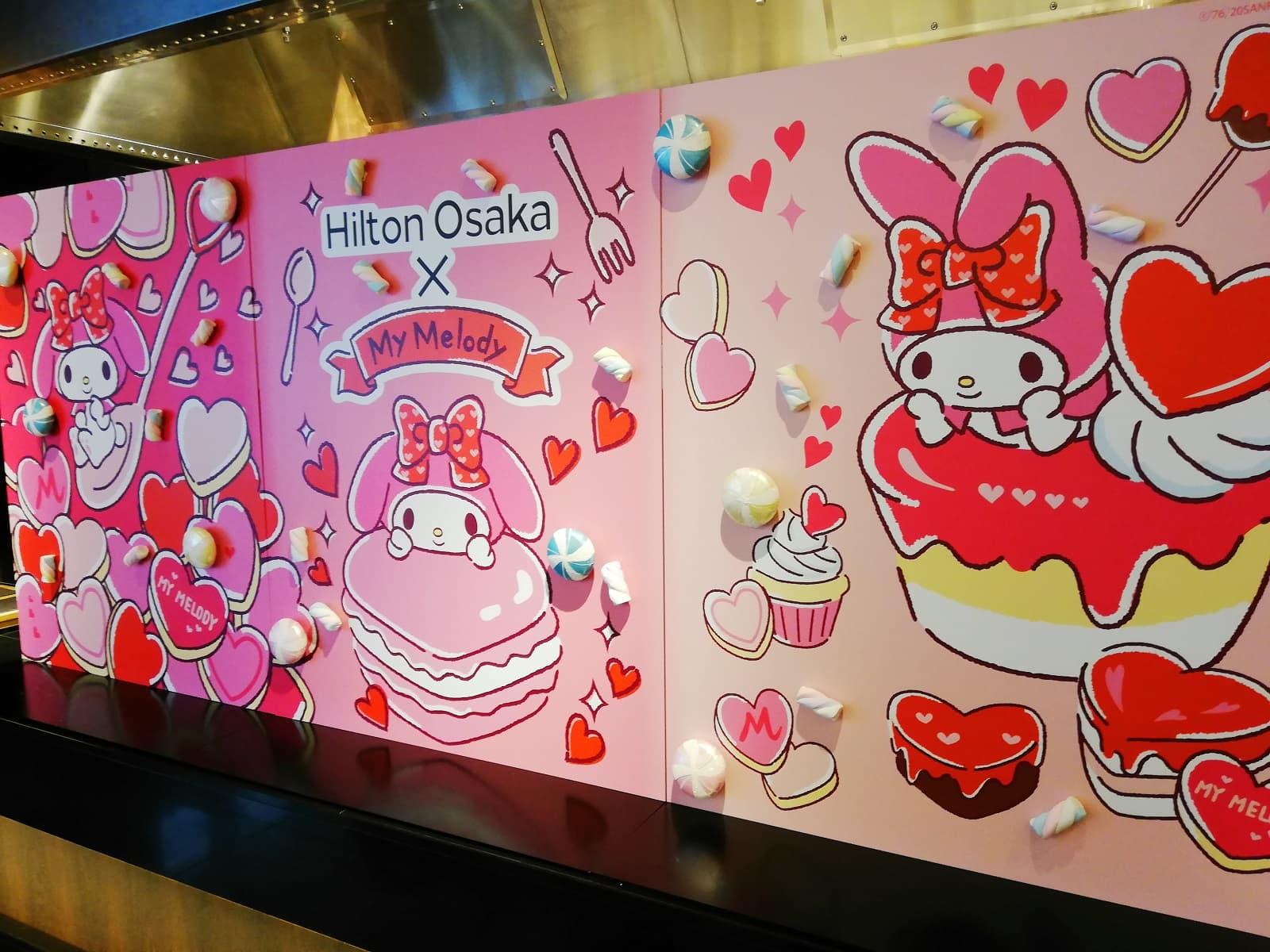 Hilton Osaka×My Melody