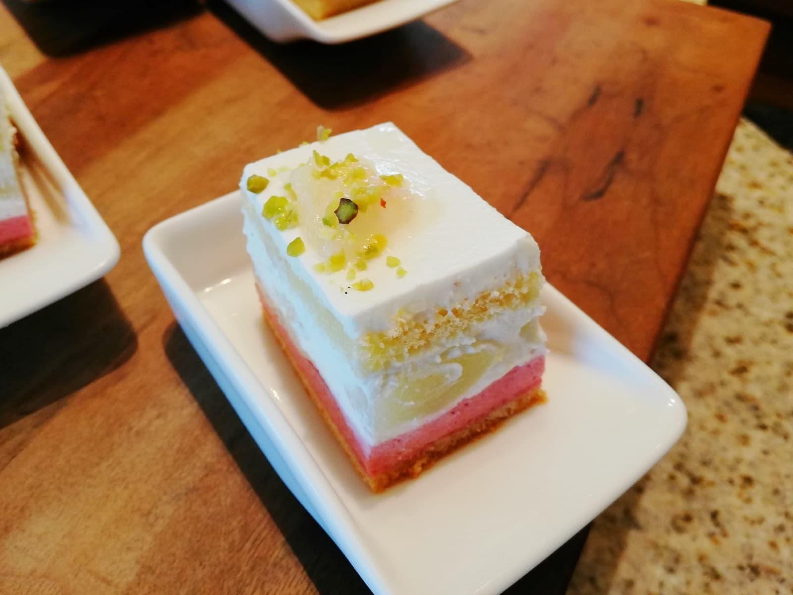 ピーチショートケーキ