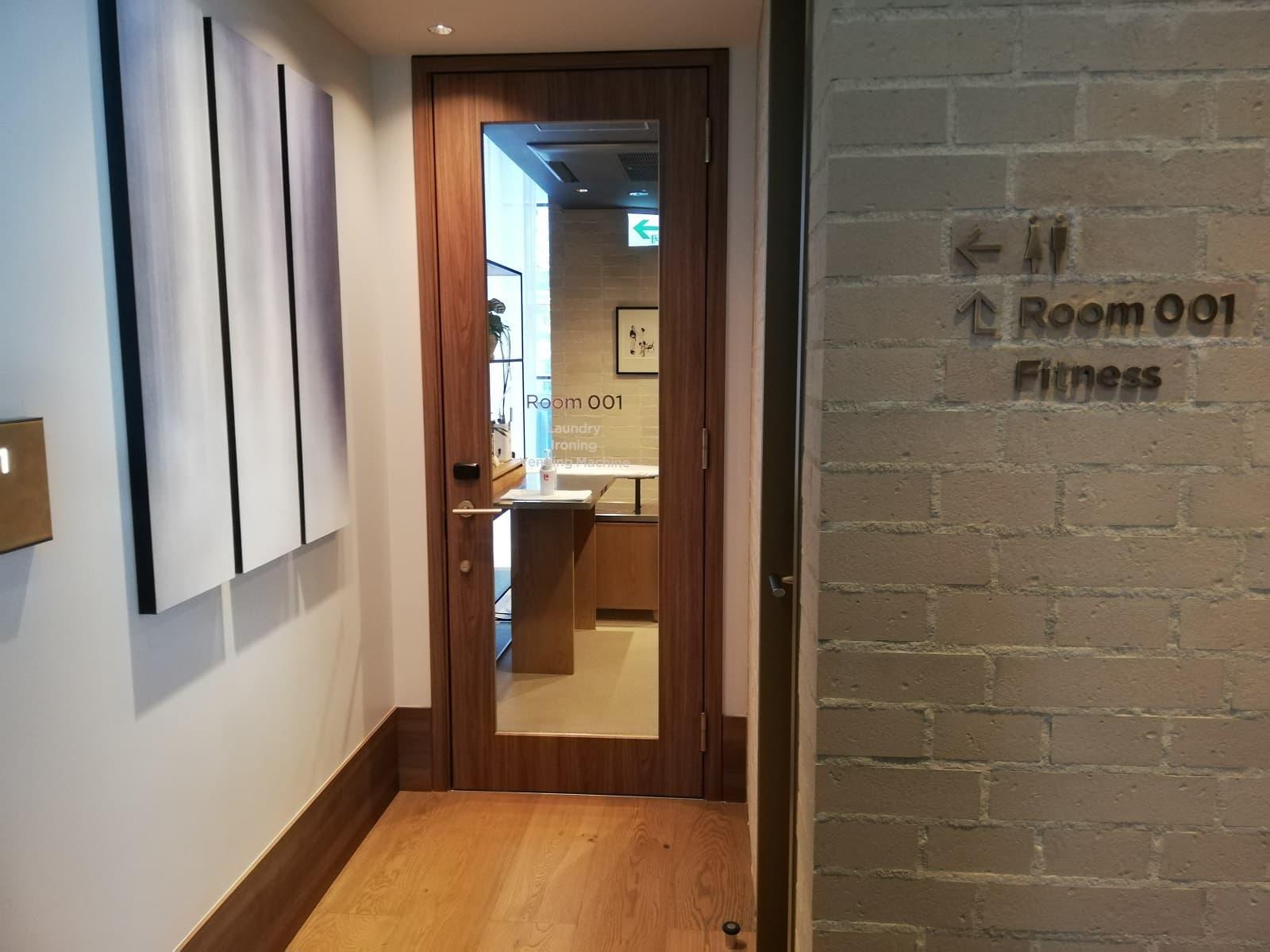 「Room 001」の入口