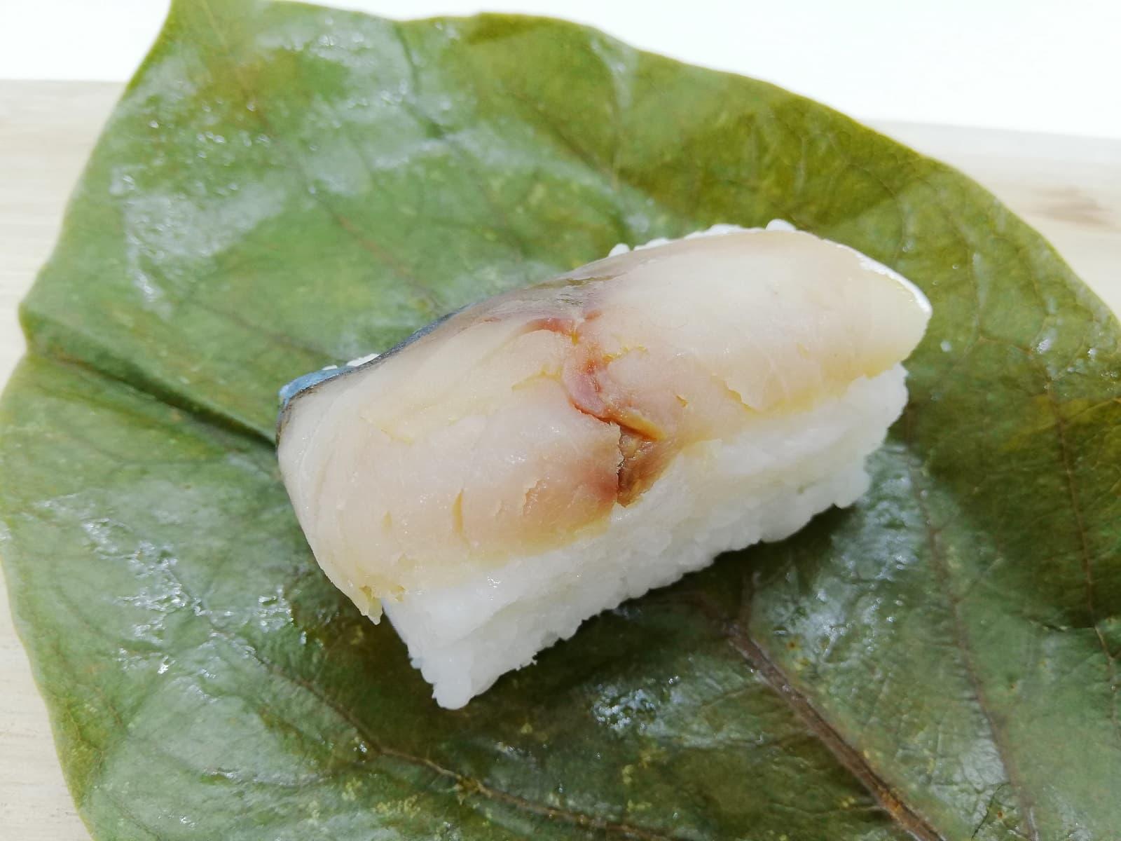 静亭の柿の葉寿司