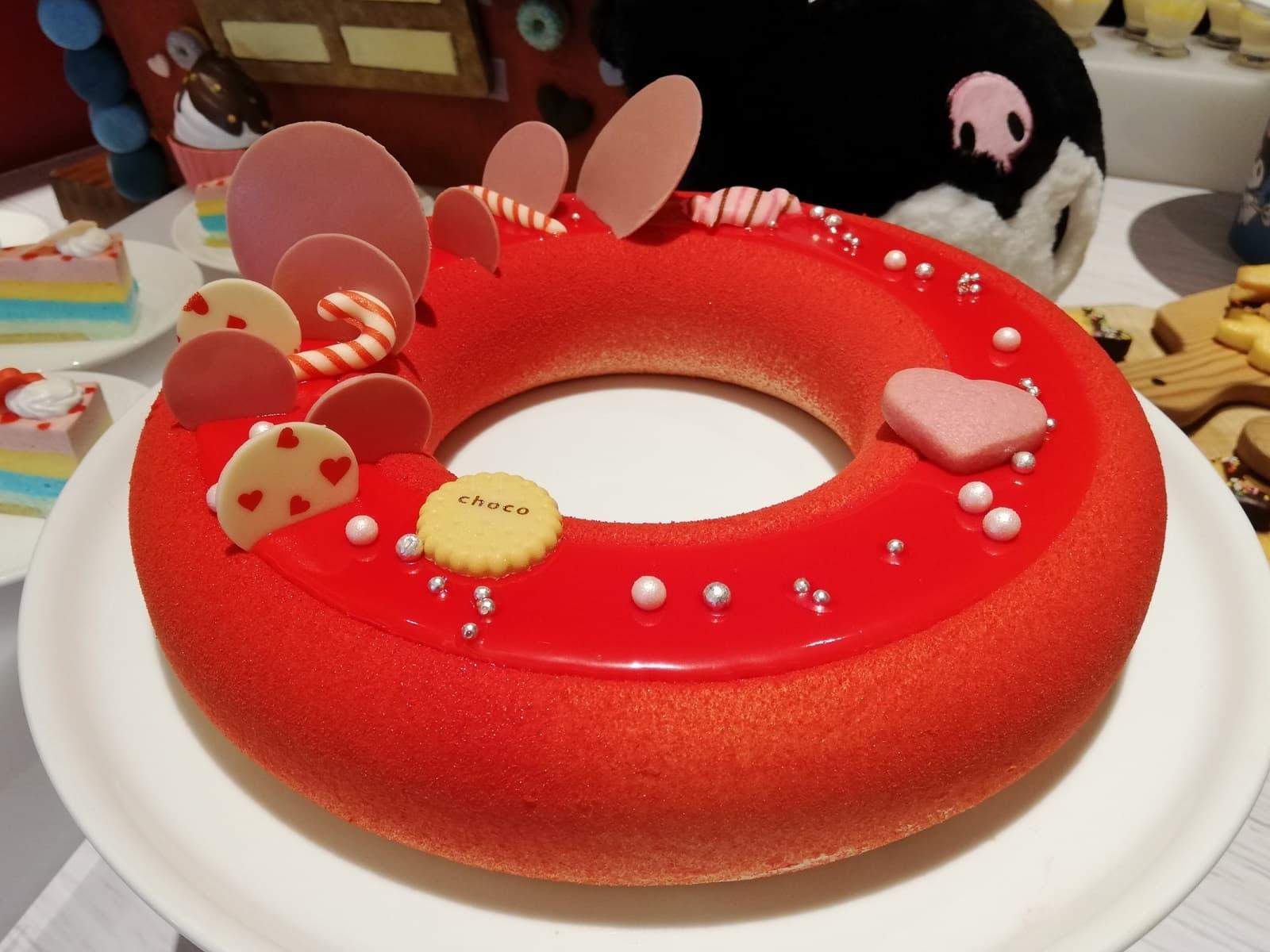 レッドリングケーキ