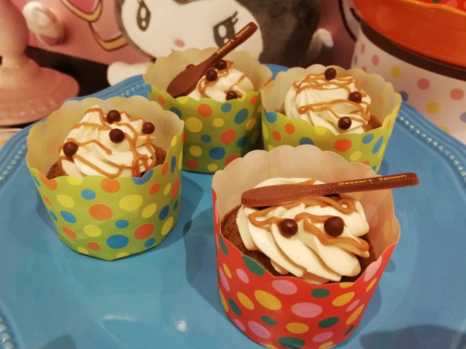 マロンクリームカップケーキ