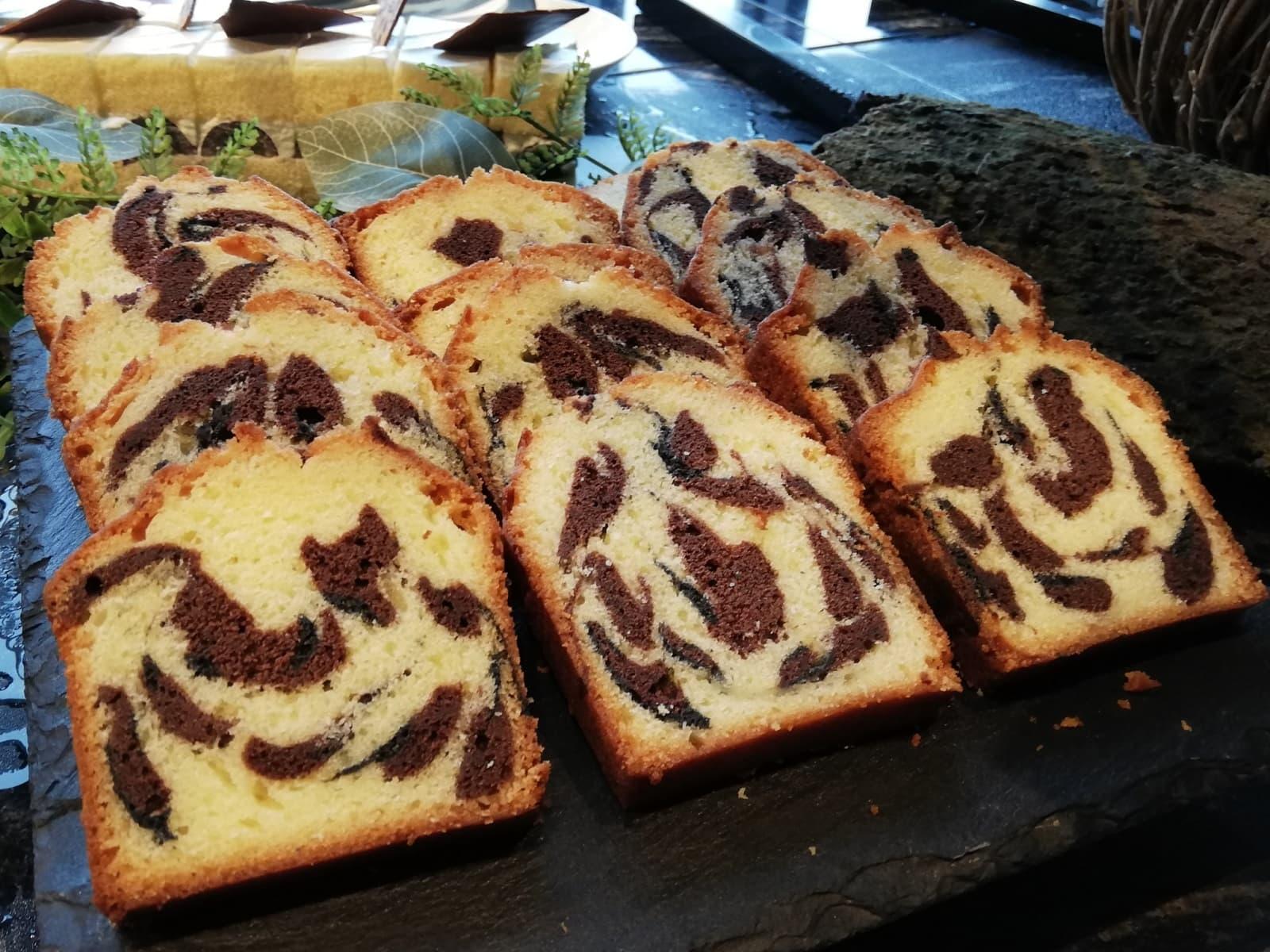 レオパードパウンドケーキ