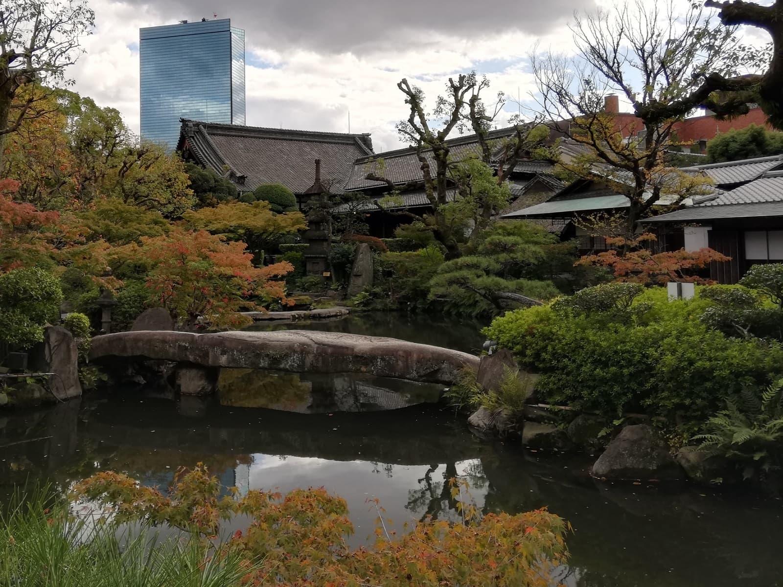 太閤園の庭園