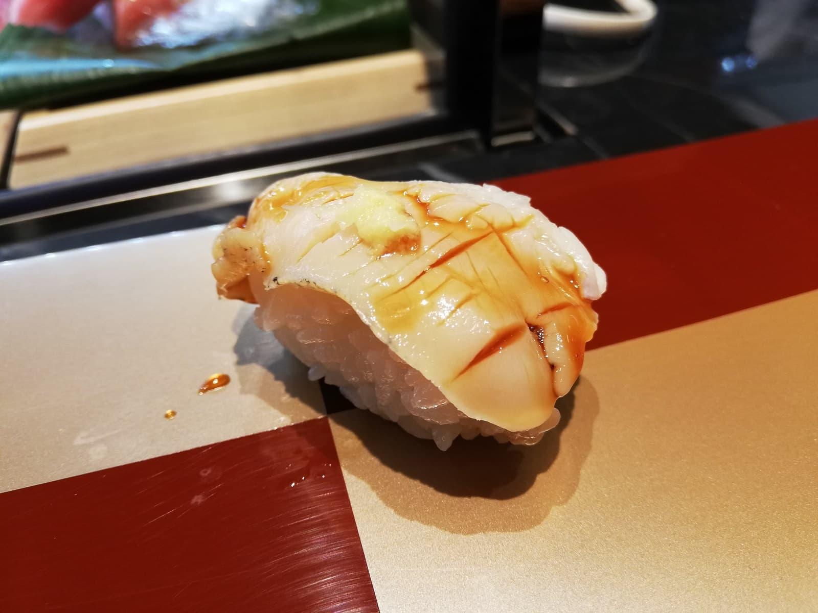たから寿司高島屋大阪店のつぶ貝