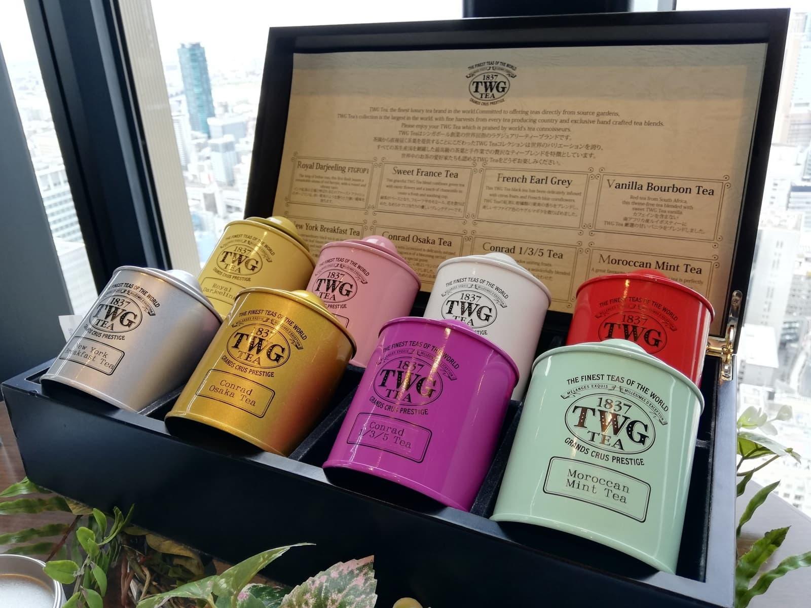 TWG Teaブランドの紅茶