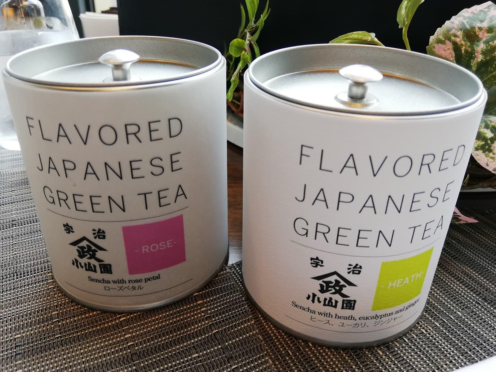 特別ブレンドの煎茶ハーブティー