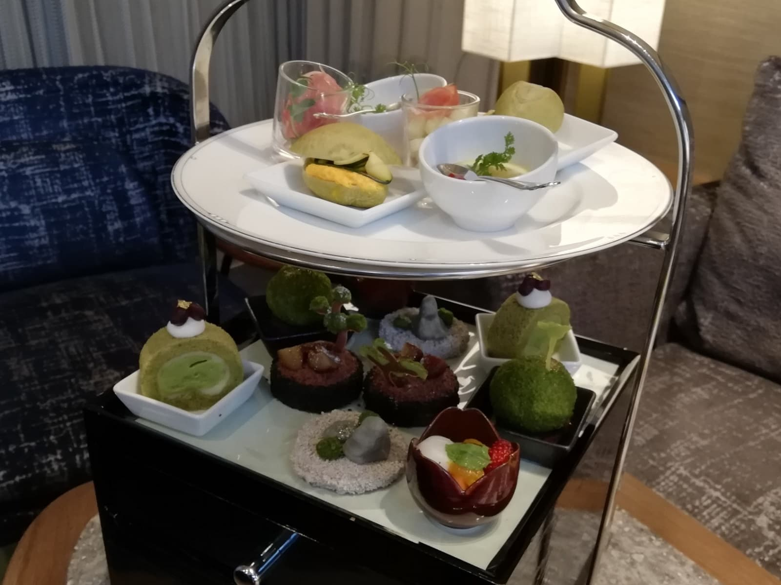 スイスホテル南海大阪の福岡・八女茶アフタヌーンティー