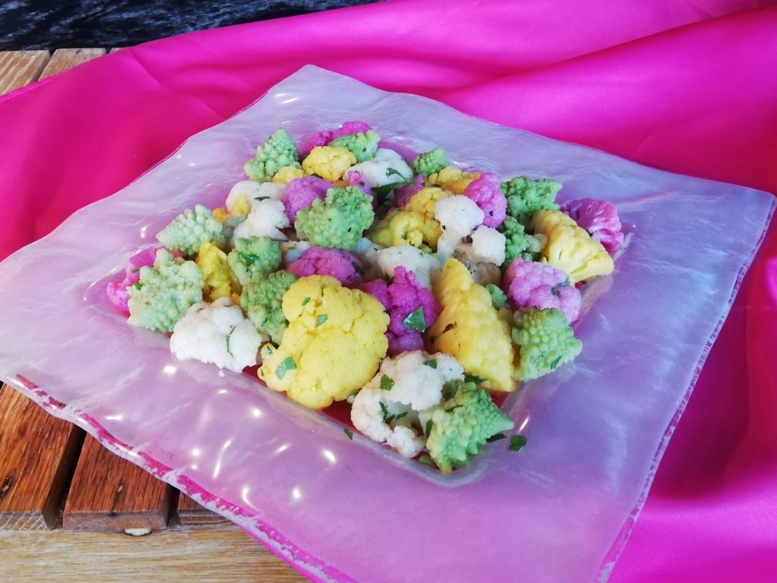 彩りカリフラワーサラダ