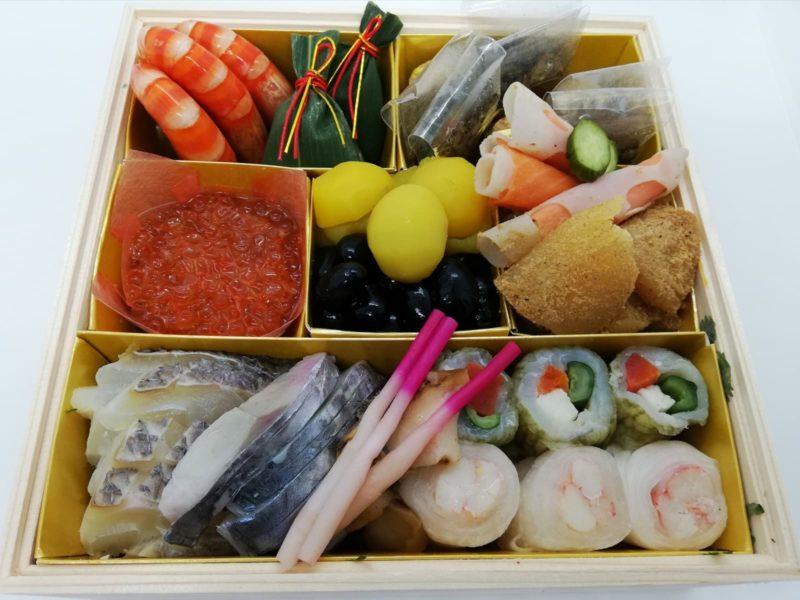 日本料理湯木のおせちの壱の重