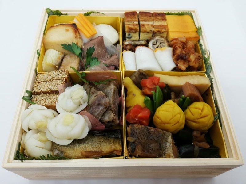 日本料理湯木のおせちの弐の重