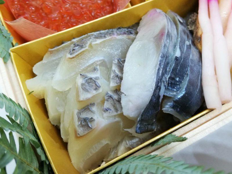 生鮨(鯛とサゴシ)